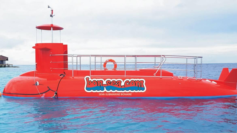 De halve-onderzeeër van Bonaire gaat van start in de eerste week van mei!